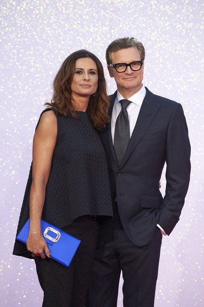 Colin Firth and Livia Giuggioli Now