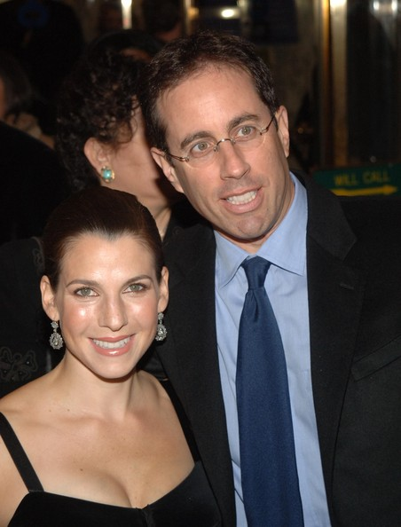 Jerry and Jessica Seinfeld Then