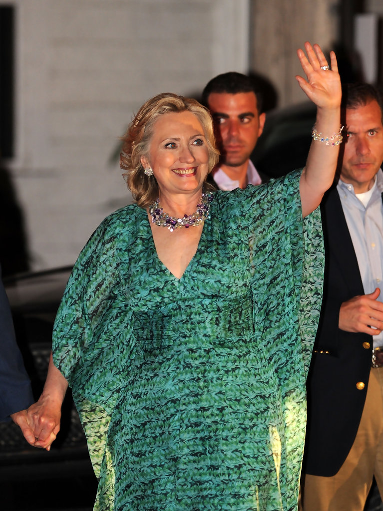 The Maxi Dress of Hillary Clinton