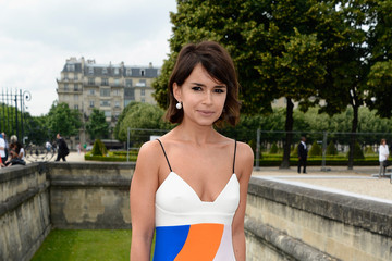 Miroslava Duma Plays With Color At The Christian Dior Haute Couture Show