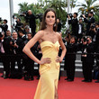 Izabel Goulart in Georges Chakra at Cannes 2015