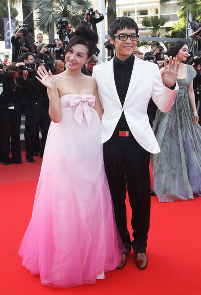 Li Feier And Zi Yi At The 2010 Cannes Film Festival