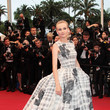 Diane Kruger in Christian Dior at the 2012 Cannes Film Festival