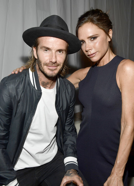 Now: Victoria and David Beckham