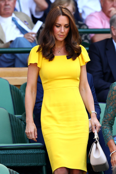 Kate's Canary Yellow Dress
