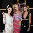 Backstage with Besties Karlie Kloss and Gigi Hadid at DVF