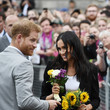 Meghan And Harry Visit Croke Park