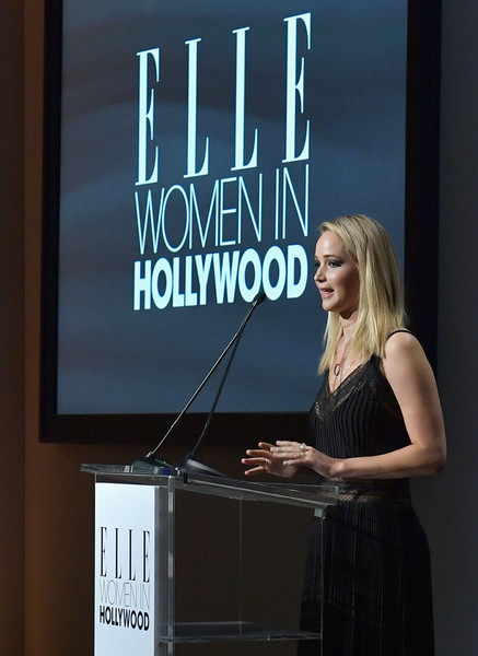 When She Spoke At 'Elle's 24th Annual Women In Hollywood Event