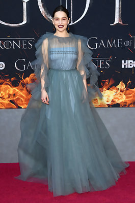 Emilia Clarke's Subtle Nod to Daenerys On The Red Carpet Will Give You All The Feels
