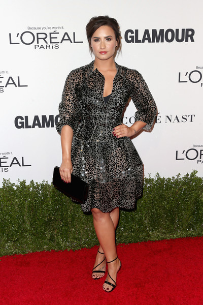 Demi Lovato in Scattered Dots
