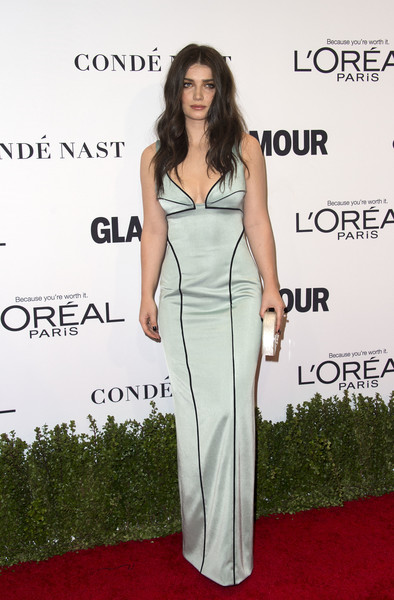Eve Hewson in a Mint Gown