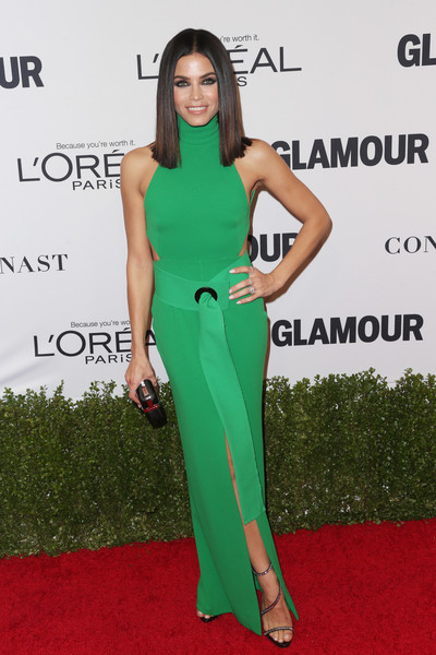Jenna Dewan Tatum in Kelly Green