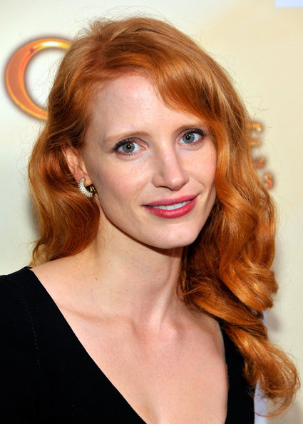 Jessica Chastain Then