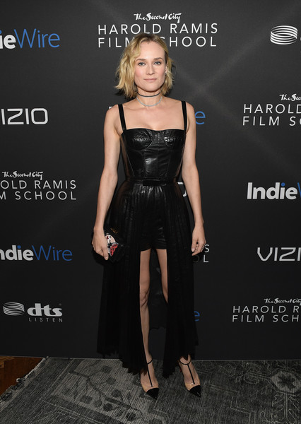 Diane Kruger in Christian Dior at the Sidaction Gala Dinner
