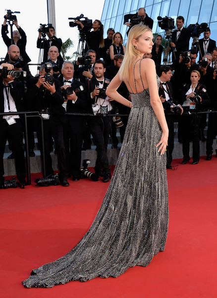 89766c96234 Lily Donaldson in Saint Laurent - Every Gorgeous Gown from the 2015 ...