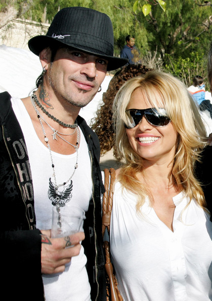 Pamela Anderson And Tommy Lee