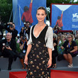 Alicia Vikander in a Girlish Frock