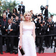 Kirsten Dunst in Retro White