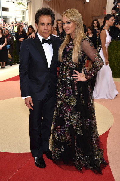 Ben Stiller and Christine Taylor Now