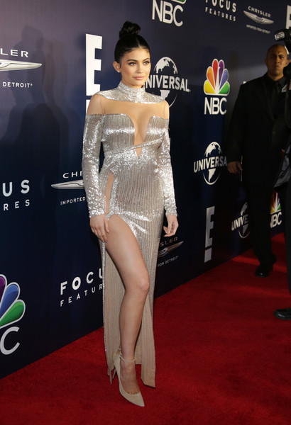 Kylie Jenner in Labourjoisie at the Golden Globes After Party