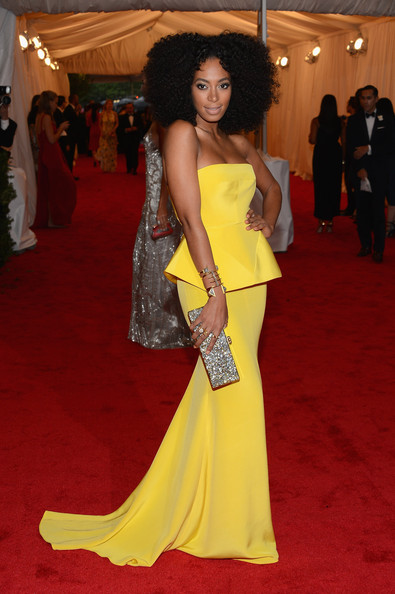 Solange Knowles in Rachel Roy, 2012