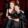 Millie Bobby Brown And Sadie Sink At The 2018 Golden Globes After-Party