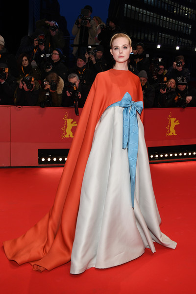 Elle Fanning In Valentino Couture At The Berlinale International Film Festival