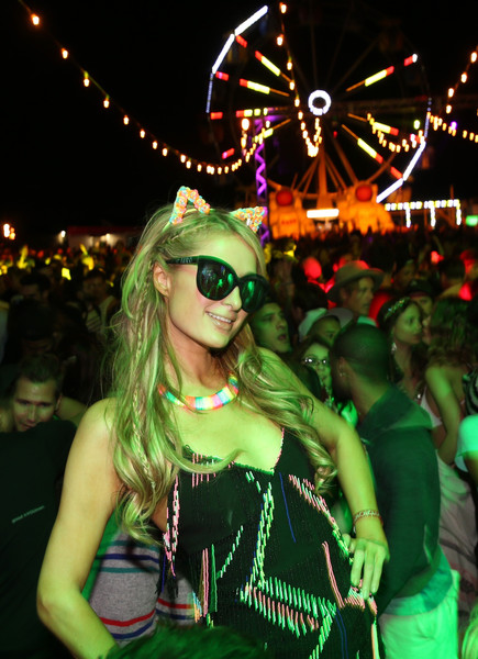 At The Neon Carnival Coachella After Party In 2015