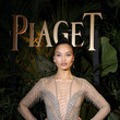 Shanina Shaik in Julien Macdonald at the Paiget Dinner
