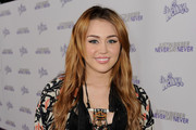 Singer/actress Miley Cyrus arrives at the premiere of Paramount Pictures'