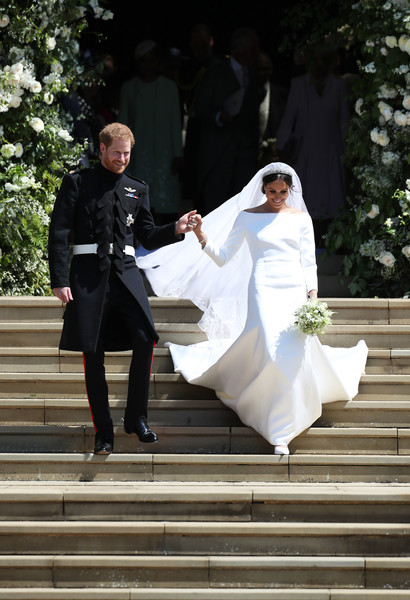 Meghan Markle and Prince Harry Marry