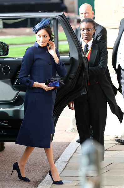 Meghan's Givenchy Coat And Dress