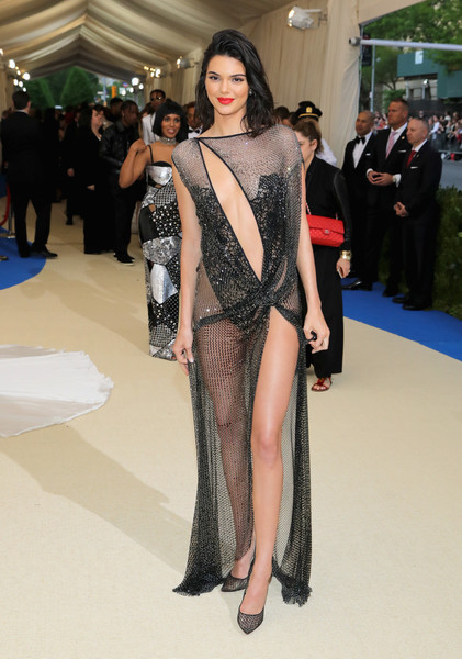 Kendall Jenner in La Perla Haute Couture at the Met Gala
