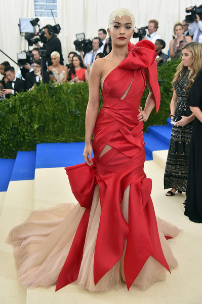 Rita Ora in Marchesa at the Met Gala