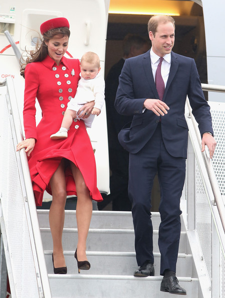 Prince William And Prince George Have Flown Together