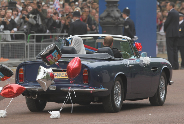 This Was Their Wedding Transport