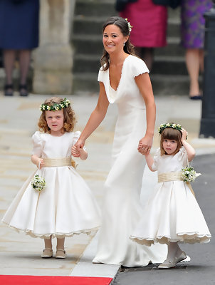 Pippa Middleton Wears Alexander McQueen to the Royal Wedding