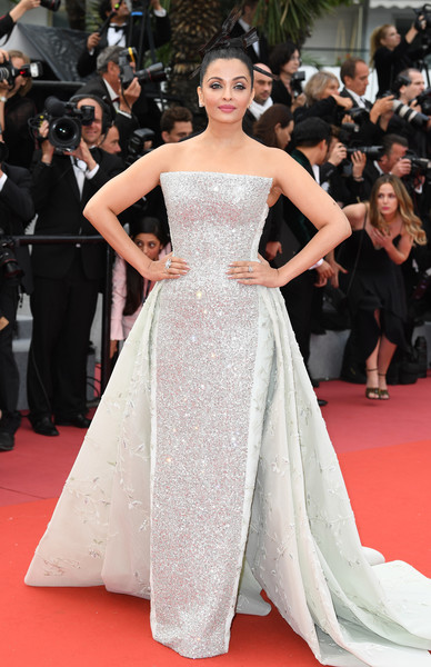 Aishwarya Rai Bachchan In Rami Kadi Couture At The Cannes Film Festival