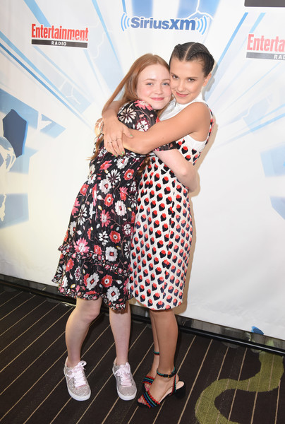 Millie And Sadie At Comic Con 2017