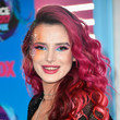 Bella Thorne's Hot Pink Curls at the Teen Choice Awards