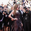 Chocolate Taffeta Atelier Versace At Cannes