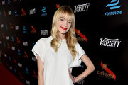 Actress Jaime King attends the Variety and Formula E Hollywood Gala at Chateau Marmont on April 4, 2015 in Los Angeles, California.