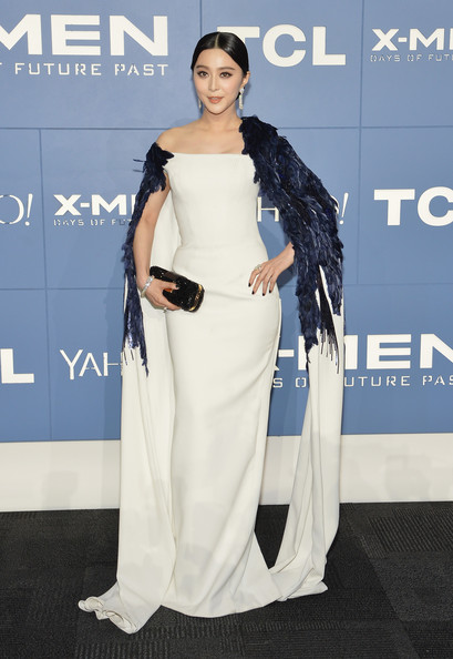 Fan Bingbing in Georges Chakra Couture at a 2014 Premiere