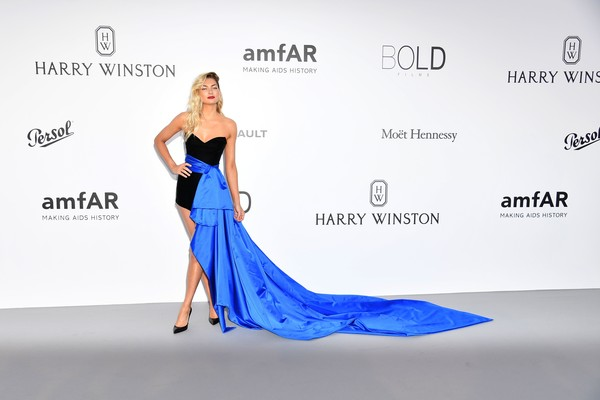 Jessica Hart in Alexandre Vauthier at the amfAR Gala
