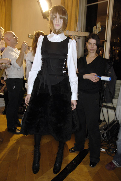 A.F. Vandevorst at Paris Fall 2007 (Backstage)
