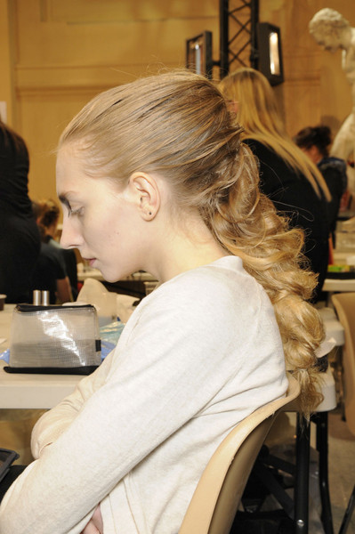 A.F. Vandevorst at Paris Fall 2011 (Backstage)