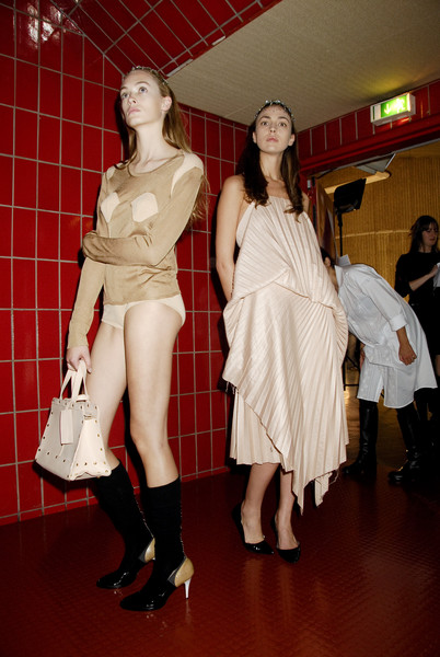 A.F. Vandevorst at Paris Spring 2008 (Backstage)