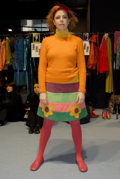 Agatha Ruiz de la Prada at Milan Fall 2007 (Backstage)