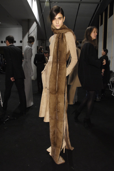 Akris at Paris Fall 2008 (Backstage)