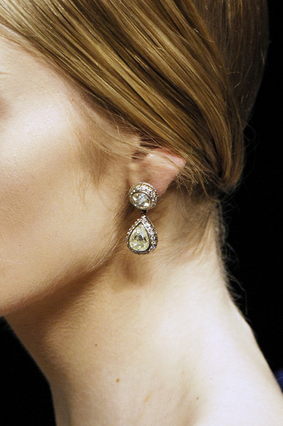 Alexander McQueen at Paris Fall 2008 (Details) [hair,ear,earrings,neck,body jewelry,hairstyle,jewellery,fashion accessory,chin,silver,earring,jewellery,alexander mcqueen,silver,fashion,fashion week,runway,body jewelry,hairstyle,paris fashion week,paris fashion week,paris,runway,fashion,earring,fashion week,earrings m,alexander mcqueen,silver]